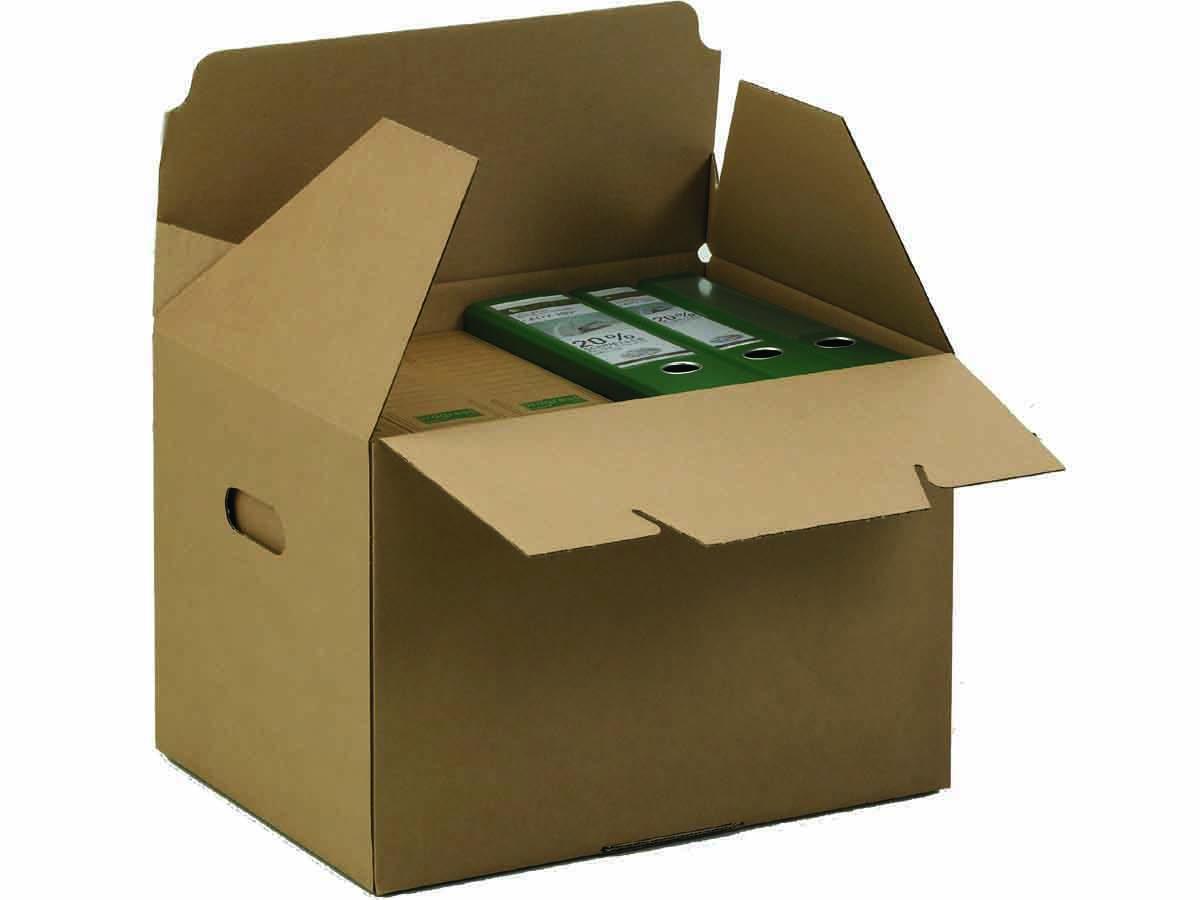 archivkarton f r din a4 ordner mit integriertem deckel. Black Bedroom Furniture Sets. Home Design Ideas