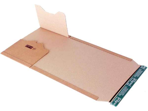 Buchverpackung DIN A4 Premium 300x220x-80 mm