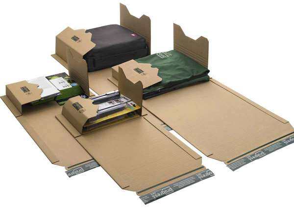 Buchverpackungen DIN B5 ECO 274x191x-80 mm