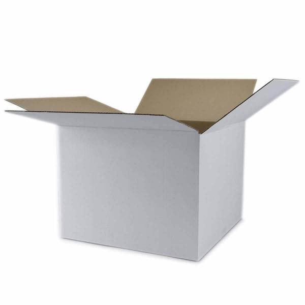 Karton 400x400x300 mm 1-wellig weiß