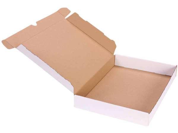 Maxibriefkarton weiß 160x113x42 mm