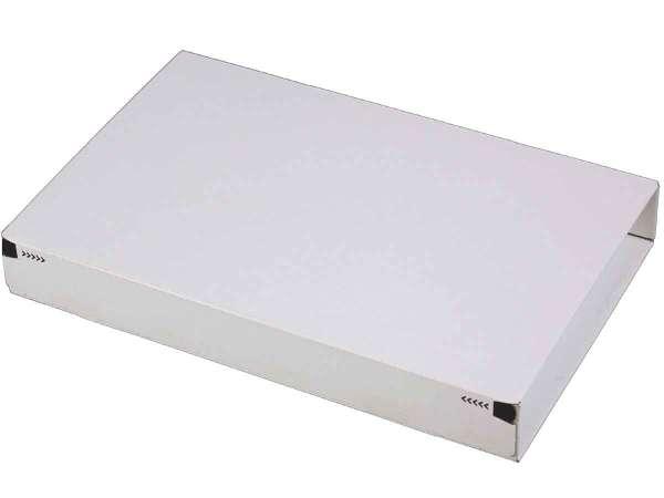 Versandkarton weiß Postbox Secure 215x155x43 mm