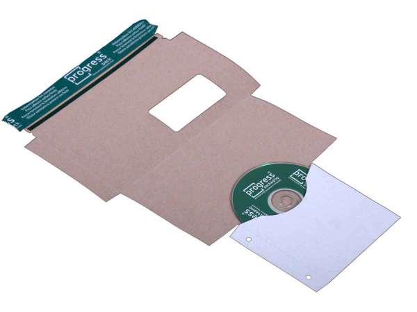 CD-Mailer DIN lang mit Archivtasche und Fenster