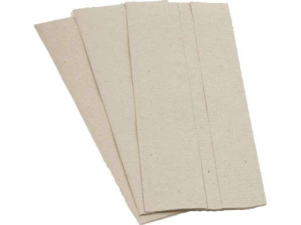 Papierhandtücher 1-lagig C-Falz recycling hellgrau