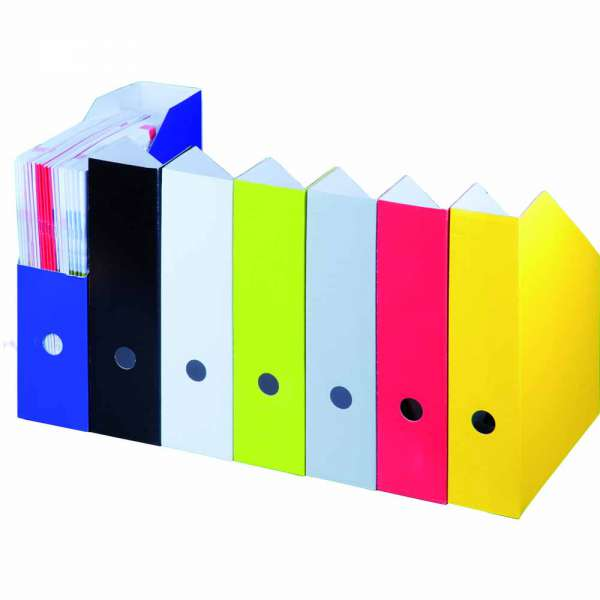 Stehsammler pappe  Stehsammler Stehordner DIN A4 aus Pappe farbig ⇒ online kaufen