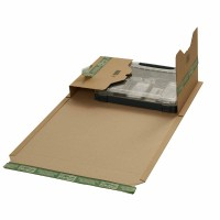 Buchverpackungen mit ExtraSAFE Verschluß 455x325x-80 mm