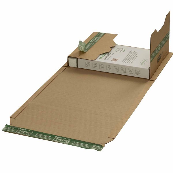Buchverpackungen mit ExtraSAFE Verschluß 378x295x-80 mm