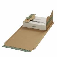 Buchverpackungen mit ExtraSAFE Verschluß 335x275x-80 mm