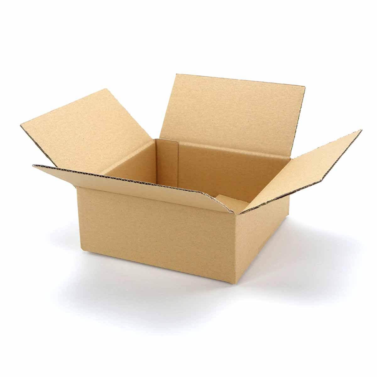 faltkartons 200 x 200 x 80 mm 1 wellig. Black Bedroom Furniture Sets. Home Design Ideas
