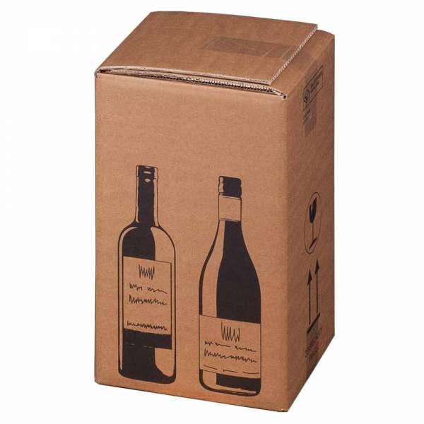 PTZ-Flaschenkarton für 4 Flaschen