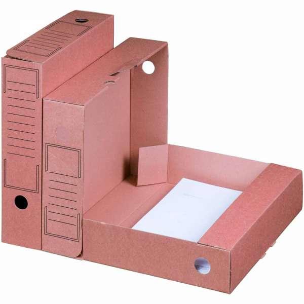 Ablagebox braun 252x70x317 mm