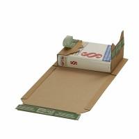 Buchverpackung mit ExtraSAFE Verschluß 217x155x-60 mm