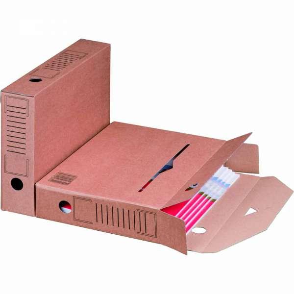 Ablagebox braun 315x65x233 mm