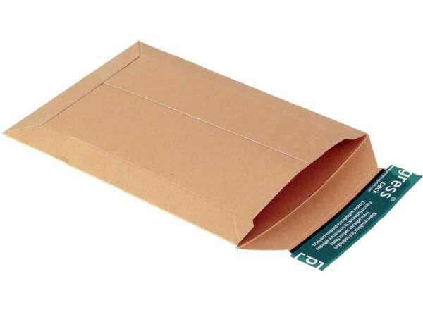 Versandtaschen Vollpappe braun 167x240x-30 mm