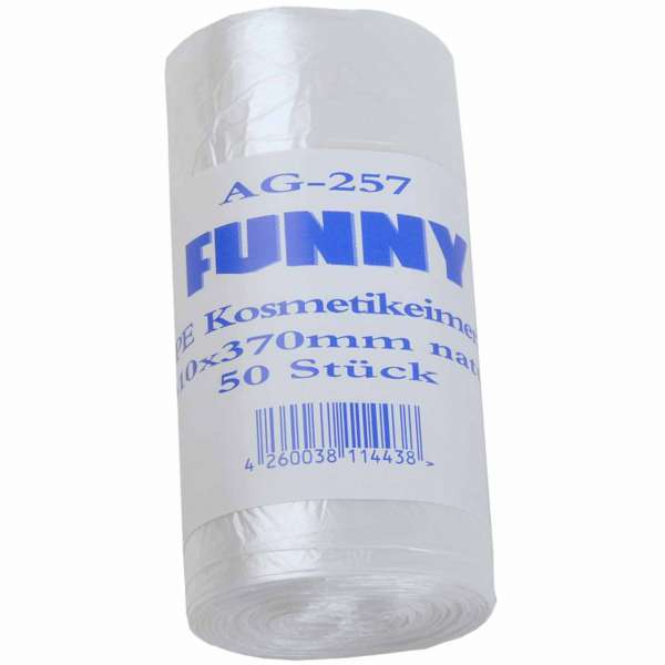Kosmetikeimerbeutel 310x370 mm