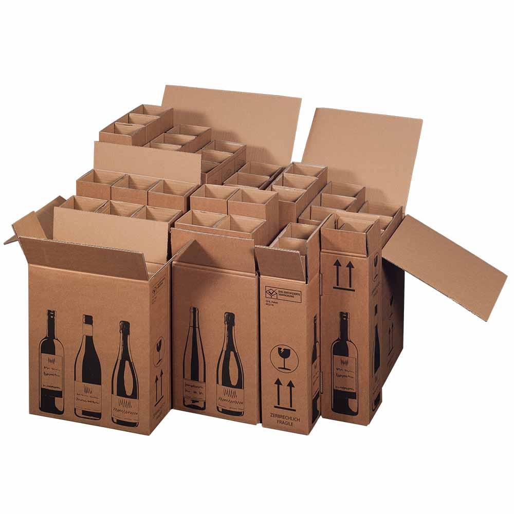 Flaschenverpackungen flaschenkartons online kaufen for Puppenhaus selber machen