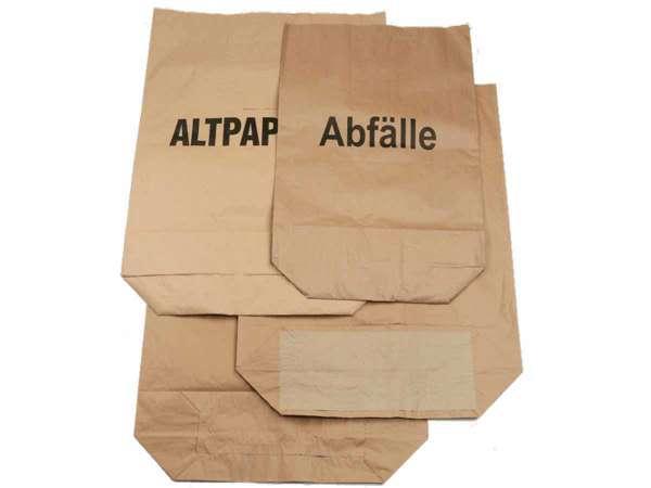 Papierabfallsäcke ca. 70 Liter