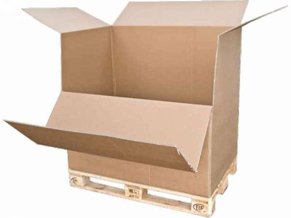 Paletten-Container 1180x780x1065 mm zweiwellig
