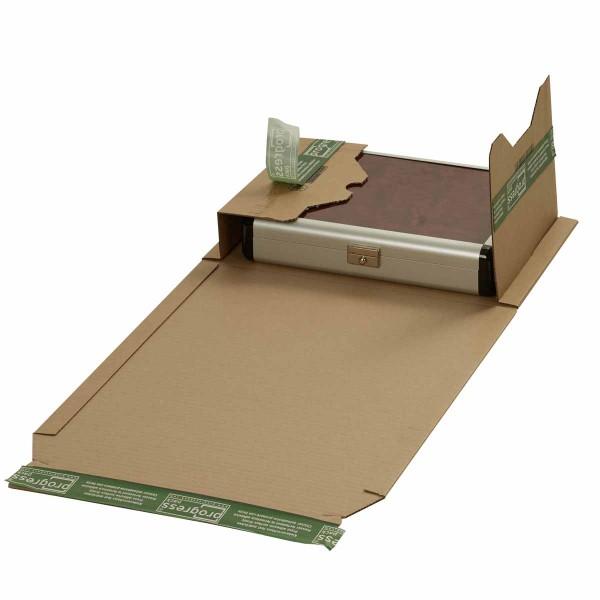 Buchverpackungen mit ExtraSAFE Verschluß 300x220x-80 mm