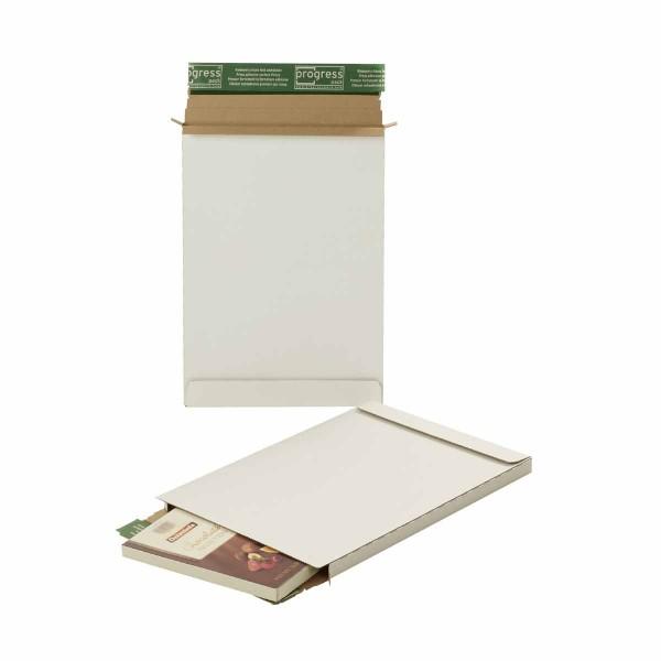 Briefbox Premium weiß Großbrief DIN A4 345x245x15 mm