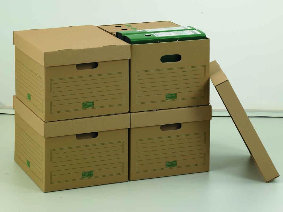 archivbox f r din a4 ordner mit separatem deckel. Black Bedroom Furniture Sets. Home Design Ideas