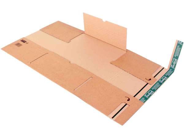 Buchverpackung Versandkartons für Schallplatten 320x320x-55 mm