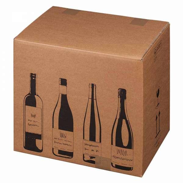 PTZ-Flaschenkarton für 12 Flaschen