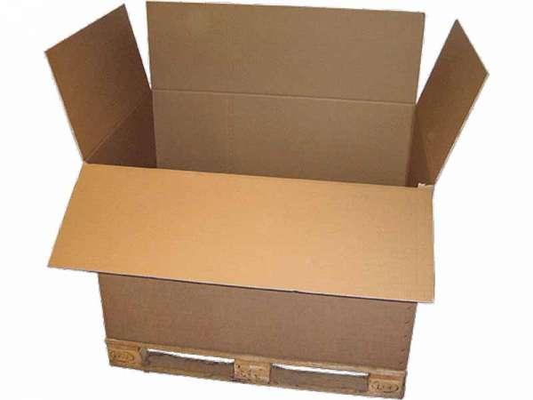 Paletten-Container 1180x780x765 mm zweiwellig